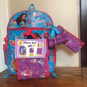 Elena Avalor 5 Piece Backpack Set